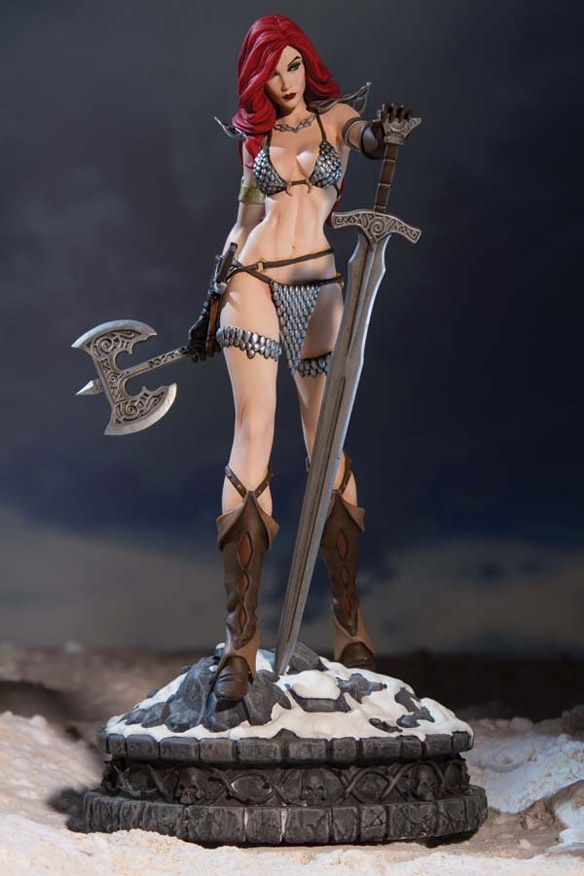 Dynamite Entertainment Women of Dynamite Red Sonja Diamond Eye Edition Statue