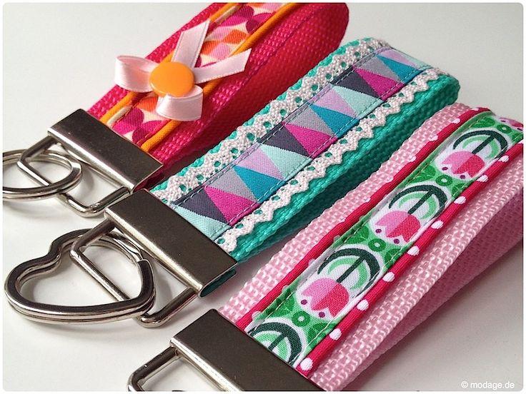 Bring Farbe in deinen Alltag mit unserem Schlüsselband-DIY!