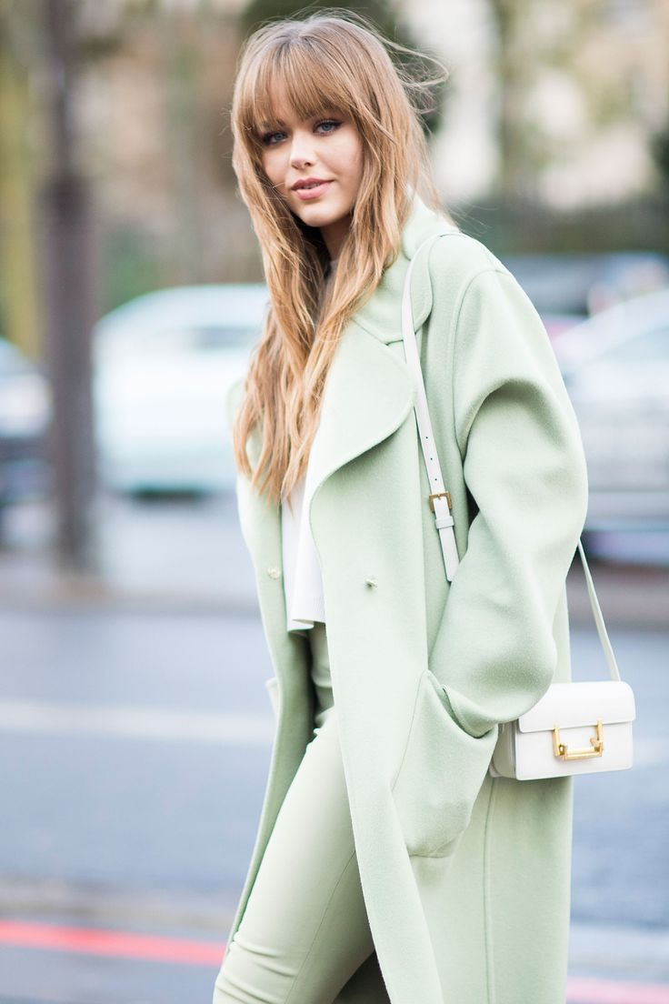 Kristina Bazan - Paris Fashion Week street style  - HarpersBAZAAR.co.uk