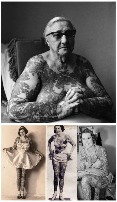 'Sue Lillian Brown, better known as Betty Broadbent, was only 18 years old in 1927 when she joined the Ringling Brothers and Barnum and Bailey Circus as the youngest professional tattooed woman in the U.S.'