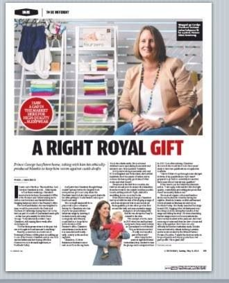 A Right Royal Gift - Fourzero has been chosen for Prince George #fourzeroroyalgifts #fourzerobabygifts #princegeorge