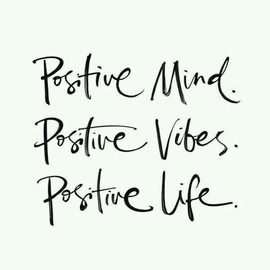 Positive Mind👧 Positive Vibes💃 Positive Life🌞
