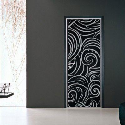 selbstklebende folien f r t ren m bel wohnen holzt r. Black Bedroom Furniture Sets. Home Design Ideas