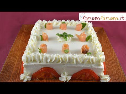 Torta tramezzino - Gnam Gnam - YouTube