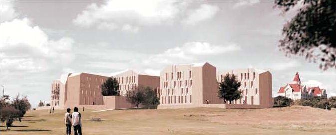 St. Edward's Student Housing by Alejandro Aravena