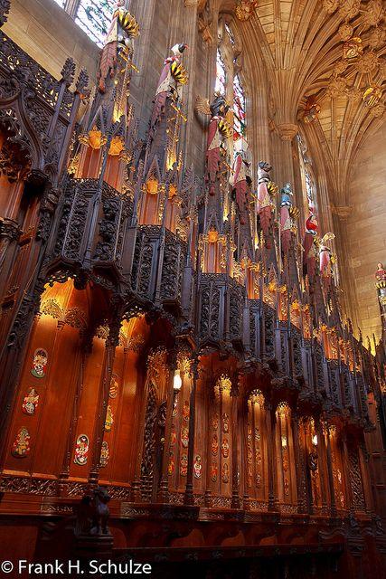 The Thistle Chapel, St. Giles Cathedral ~ Edinburgh, Scotland