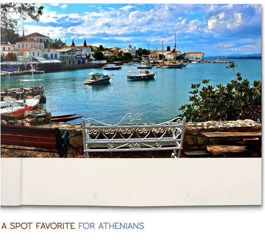 #Spetses, a spot favorite for the Athenians is waiting for U.