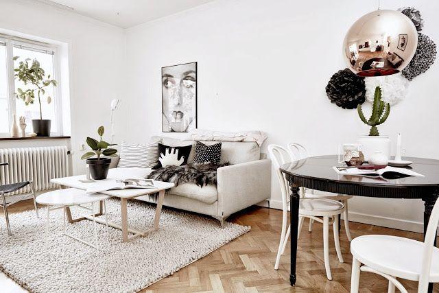 #scandinave #deco www.amateurdedesign.com  La maison d'Anna G.