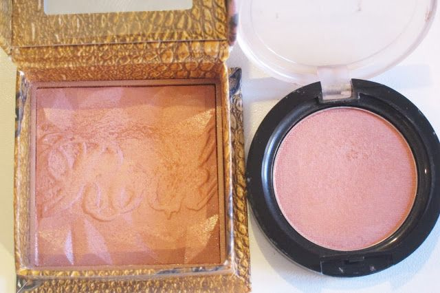 Australian Makeup and Skin care: Dupe Alert- Benefit Rockatuer and Natio Peach Glow  #dupes
