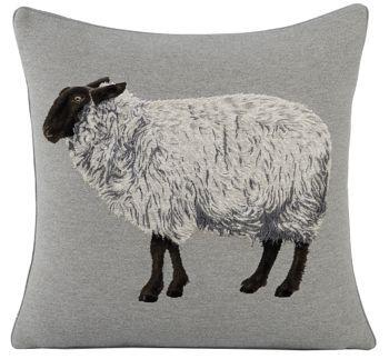 Véritable coussin de décoration intérieurereprésentant un mouton, entièrement rembourré et avec une attention toute particulière à la finition. Un coussin de tapisserie qui ravivera votre intérieur sur un canapé ou un fauteuil.