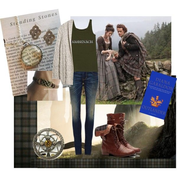Sassenach. Outlander inspired outfit