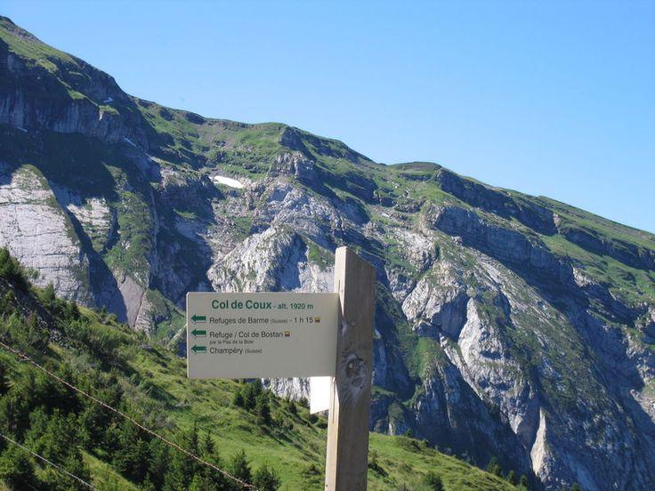 Col de coux -Alpes
