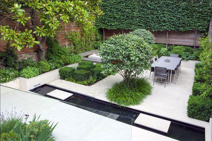 Столовая зона в саду
