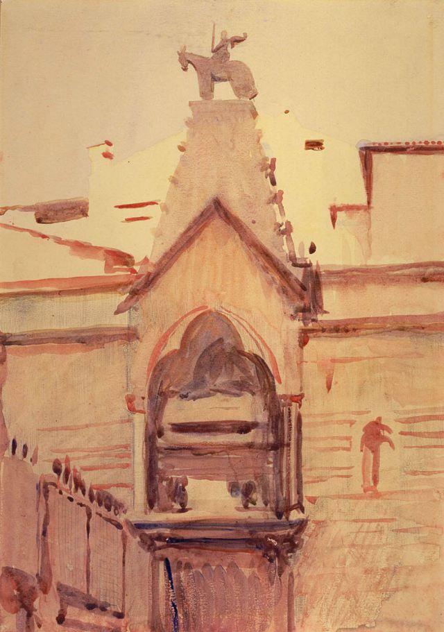 Abbott Handerson Thayer - Tomb of Verona