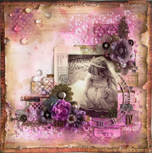 Elina's Arts And Crafts, With Love: Stockholm Scrap Class: Inky Memories