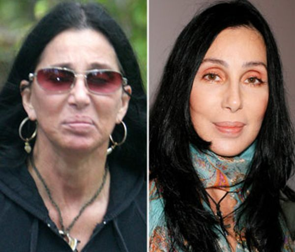 Stars without Their Makeup On | If Only Cher Could Turn Back Time Slide 9 of 10