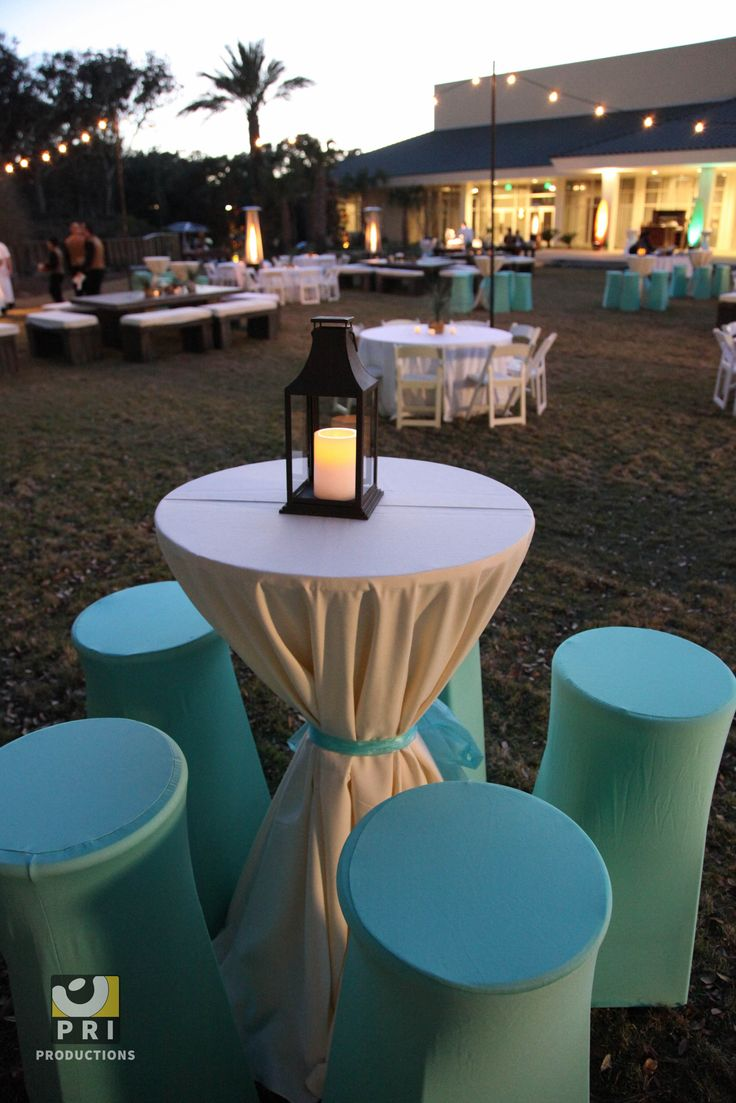 Aqua Spandex Bar Stool Covers Tablescapes Amp Settings