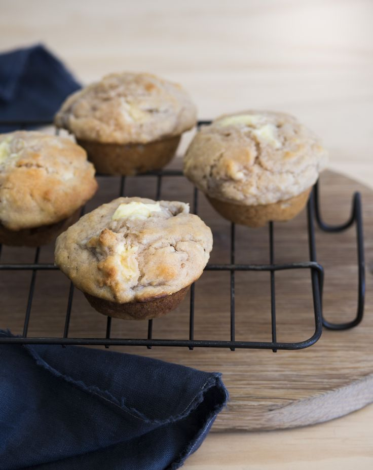 Feijoa and cream cheese muffins http://www.bite.co.nz/recipe/7731/Feijoa-and-cream-cheese-muffins/?ref=bitesocial
