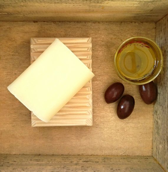 OLIVE OIL SOAP with organic greek extra by AncientGreekElixirs