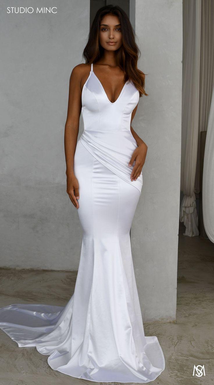 White compel in 2020 Top wedding dresses, Wedding dress