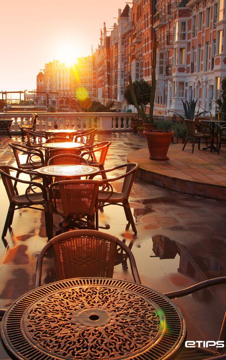 #london rooftop bar at sunset