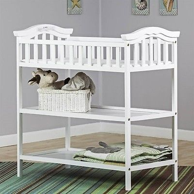 Baby Nursery: Dream On Me Jessica Changing Table In White Transitional Baby -> BUY IT NOW ONLY: $77.44 on eBay!