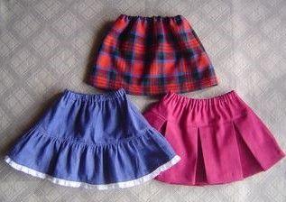 手作りスカートの作り方!子供服と大人服も簡単作成!