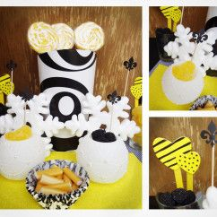 Yellow-Black&White Candy Bar