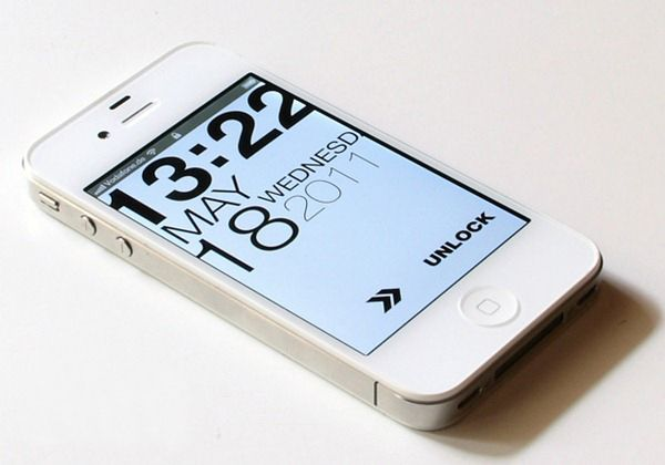 Cool Gadgets: Typophone 4 lockscreen themes and HTC Animated weather