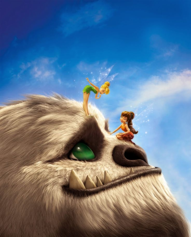 """""""Tinker Bell and the Legend of the Neverbeast"""" Announced by Disney ~ 1st Look at newest loveable character #GRUFF"""