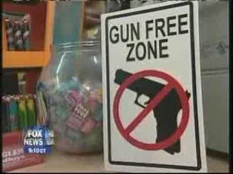 Gun Free Zones - 1/2 Hour News Hour  too funny video on the prospects of gun free zones