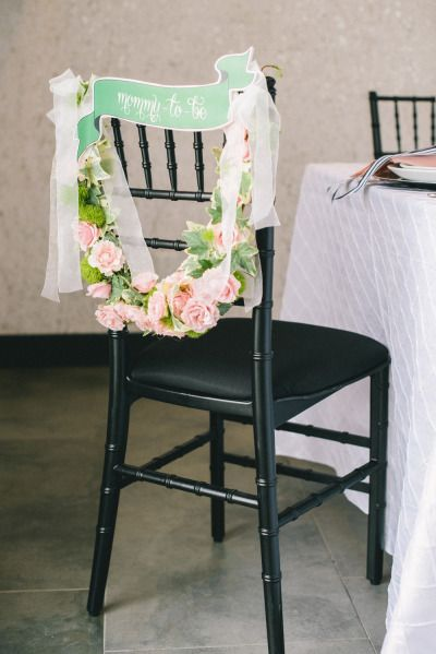 For the mama to be: http://www.stylemepretty.com/living/2015/07/16/black-and-white-bunny-baby-shower/ | Photography: Krista Mason - http://kristamason.com/