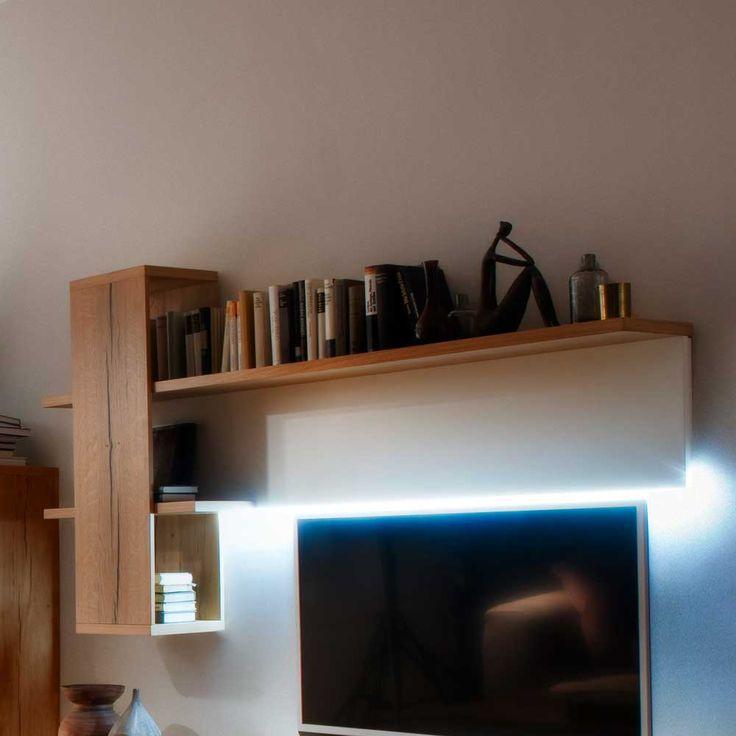 Schön Wandboard In Weiß Eiche Furniert LED Beleuchtung Jetzt Bestellen Unter:  Https://moebel