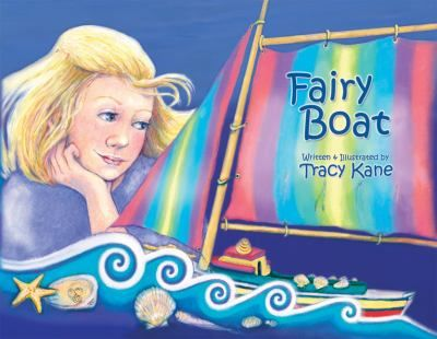Fairy Boat is the loving creation of Chelsea and her grandparents. Launching her at a creek in Fairy Woods, Chelsea hopes the fairies will find a boat ride irresistible.