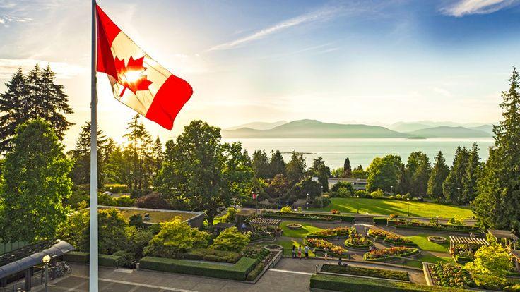 UBC's rose garden can be seen in the foreground of this aerial photo. (Hover Collective / UBC)  #exploreBC #exploreBCgardens #gardentourism #botanicalgardens