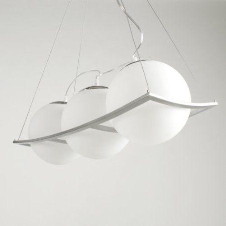 Deckenlampe Deckenleuchte Pendelleuchte 3 Er Hngeleuchte Milchglas Opalglas Kugel Leuchte Modern Weiss Von Design61