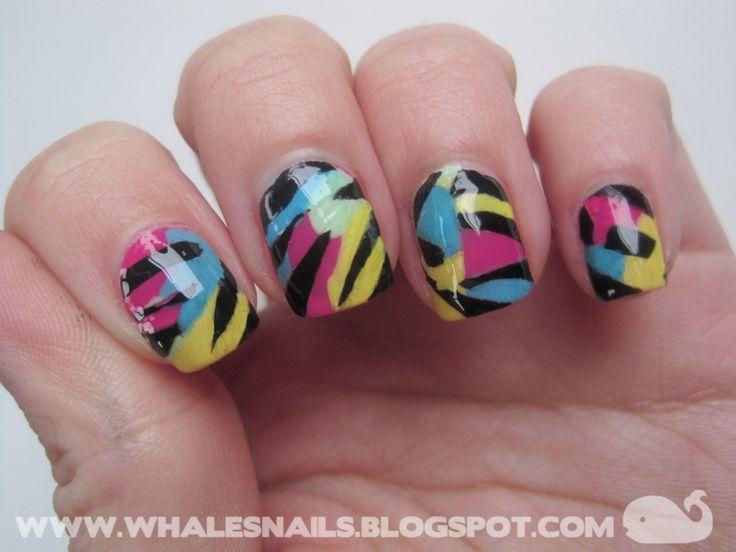 WHALE'S NAILS: Nail Art Sunday: Panic!
