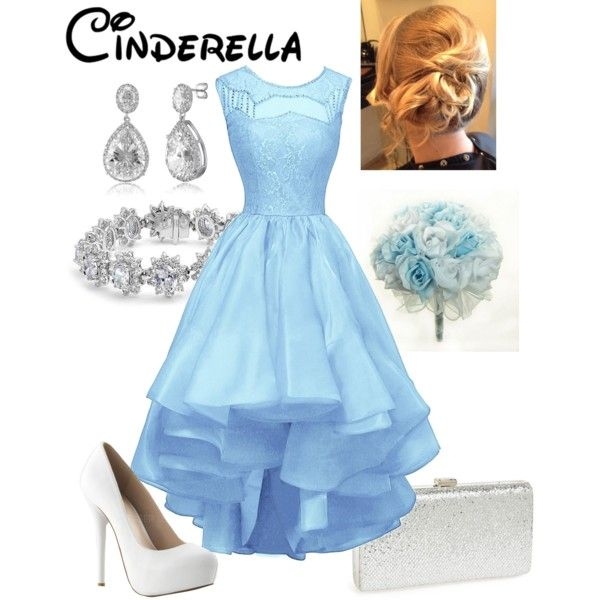 Disney - Cinderella by briony-jae on Polyvore featuring polyvore, fashion, style, Natasha, Bling Jewelry, BERRICLE and clothing