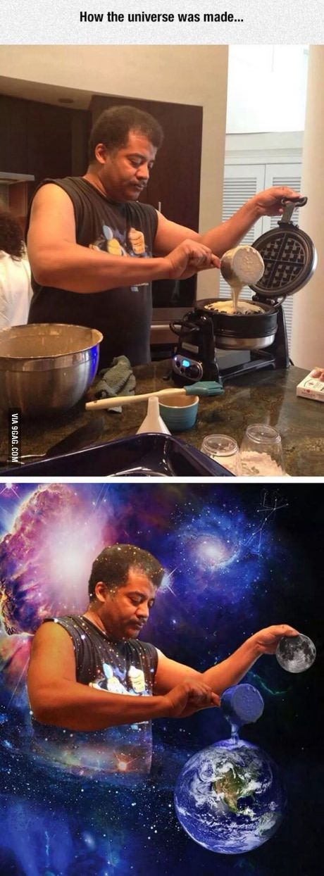 How a Universe Is Made.