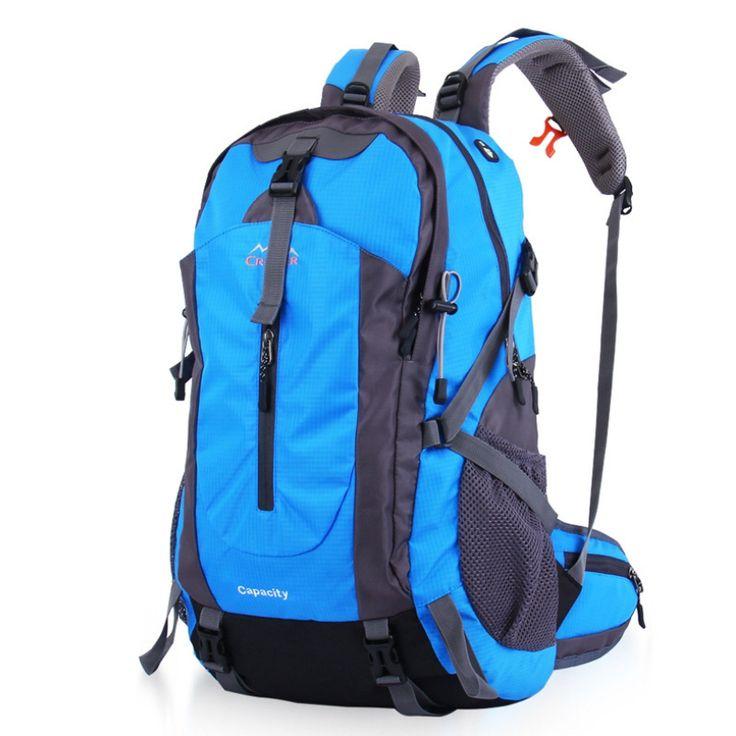 50L Splash-proof Outdoor Travel Backpack Hiking Camping Rucksack