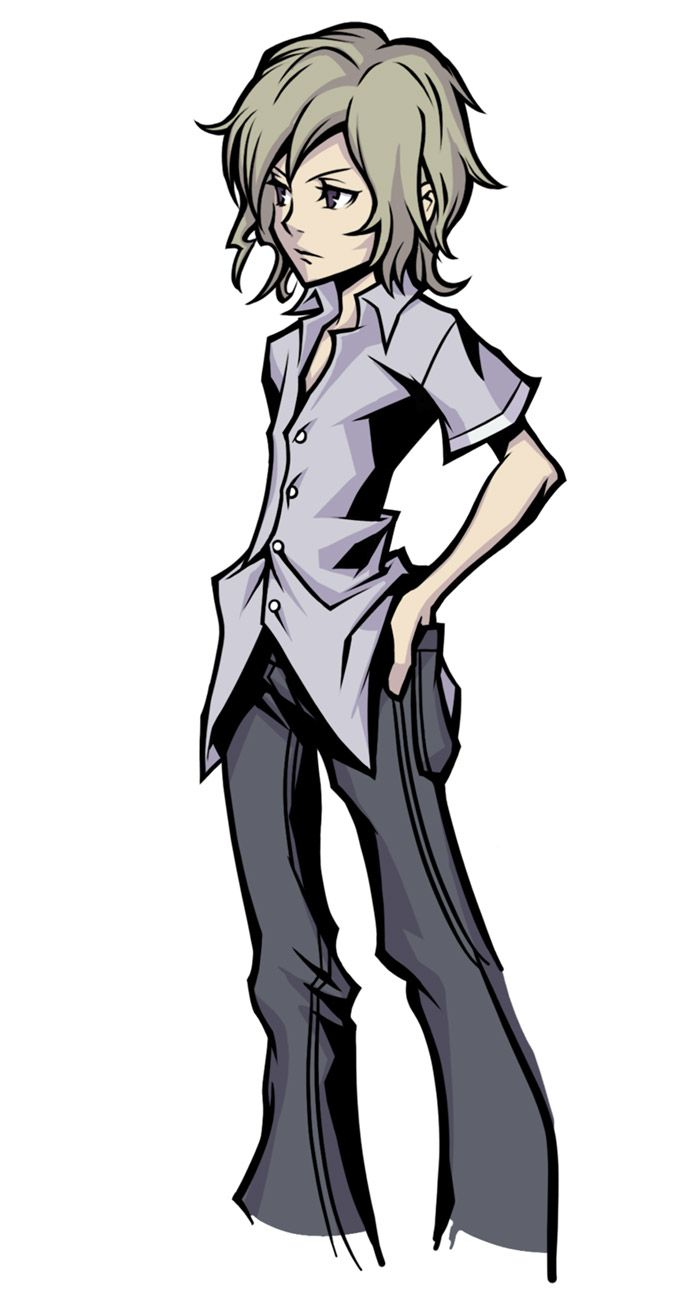 Joshua Character Concept Art From The World Ends With You Final Remix Art Illustration Artwork Gaming Videoga End Of The World Concept Art Characters Art