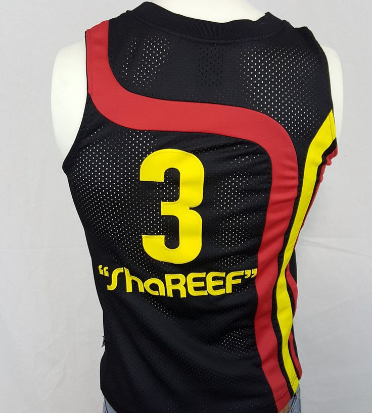 Atlanta Hawks Shareef Abdur-Rahim #3 Nike Swingman Throwback NBA Jersey Small #Nike #AtlantaHawks #hawks #shareef #ebay #nba
