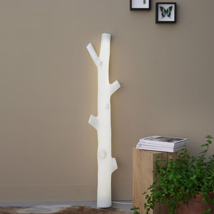 Awesome D+I Illuminated Tree Sconce & Floor Lamp  #Conceptual #Design #FloorLamp #Illuminated #Sconce #Tree    The new D+I floor & wall lamp from French company Presse Citron mimics the shape of a tree trunk that illuminates from within. The designer...