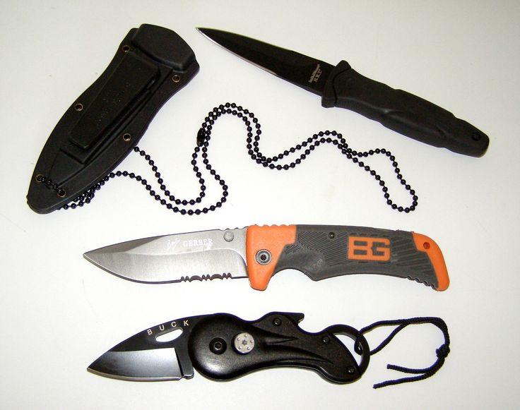 Smith Wesson Boot Knife Cuttlefish Knife Bear Grylls Gerber Folding Knife New | eBay
