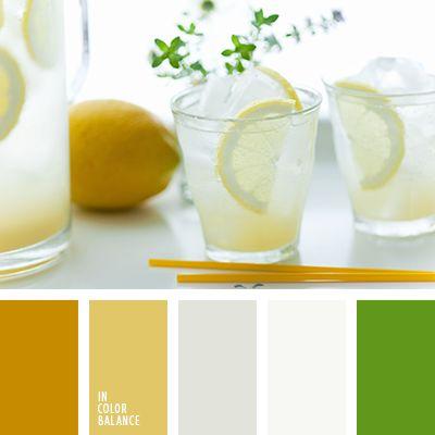 грязно-белый, грязный желтый, грязный шафрановый, желто-серый, зеленый, лимонный цвет, насыщенный зеленый, палитра цветов для дома, пастельное сочетание для дома, серый, цвет лимона, яркий зеленый.