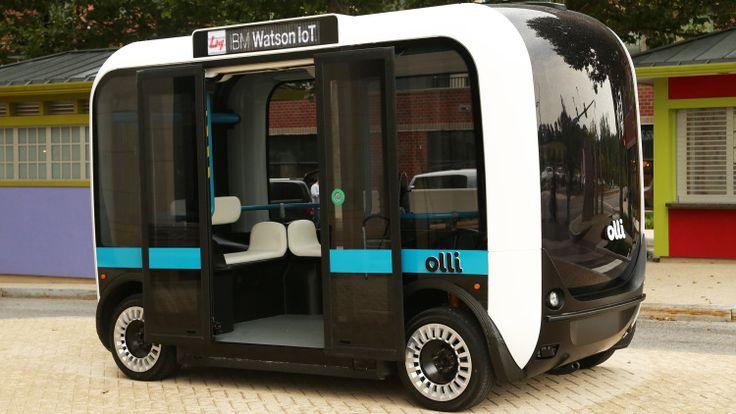 3D Printing: Olli: the 3D printed self-driving minibus - http://3dprintingindustry.com/news/olli-3d-printed-self-driving-mini-bus-82713/