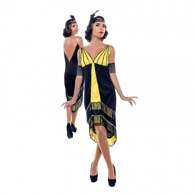 Disfraz de Gatsby años 20 para mujer #disfraces #carnaval #novedades2017