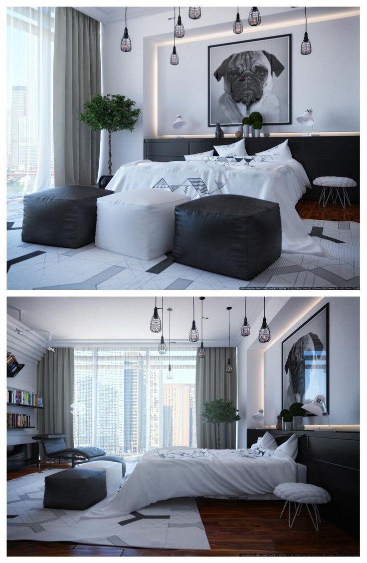Мужская спальня - Галерея 3ddd.ru