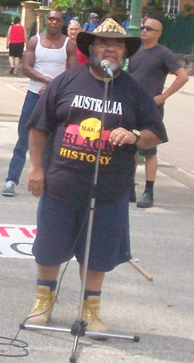 Sam Watson Addresses Invasion Day Rally, Jan 26 2007, Brisbane, Queensland, Australia - Black people - Wikipedia, the free encyclopedia