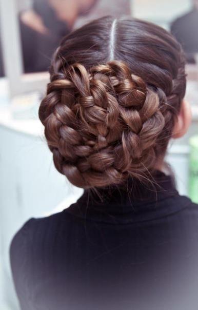 giant braided bun plus 100 amazing hairstyles